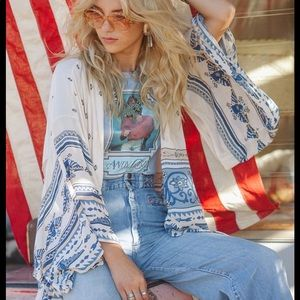 Spell and the gypsy thunderbird short kimono boho